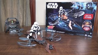 Air Hogs - Star Wars Speeder Bike - Review and Flight