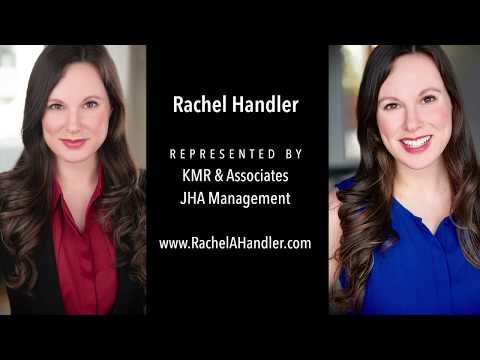 Rachel Handler's acting reel, clips from multiple TV shows and movies.