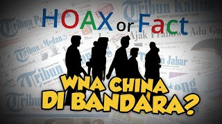 Hoax or Fact: Kedatangan WNA China di Bandara Haluoleo, Dikaitkan denga Virus Corona?