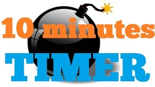 10 minute countdown radial timer with beeps most popular videos