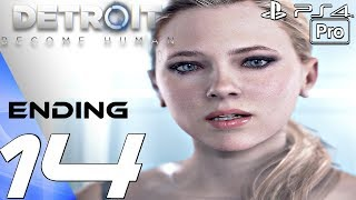 Detroit Become Human - Gameplay Walkthrough Part 14 - Ending & Final Mission (PS4 PRO)
