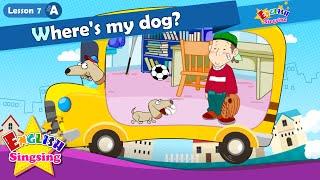 Bài 7_ (A) ở đâu con chó của tôi? - Trong On Dưới