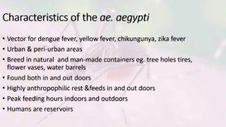 Mosquito Control Strategies