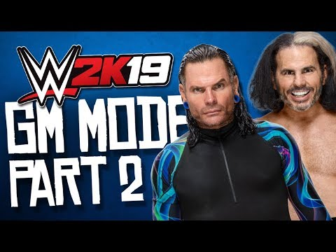 WWE 2K19 GM Mode -