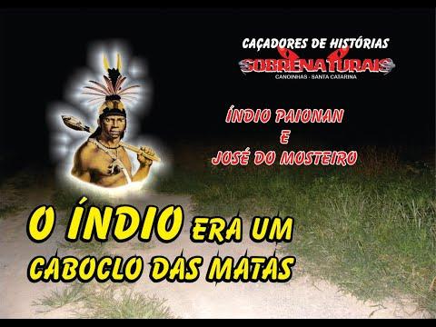 O ÍNDIO ERA UM CABOCLO DAS MATAS - Espírito de muita evolução e conhecimento...