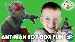 Disney Infinity 3.0 Ant Man Gameplay - Toy Box Fun