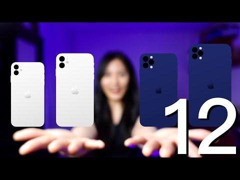 4隻 iPhone 12 差在哪?5.4寸 120Hz 5G LiDAR ToF