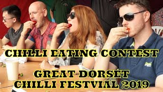 Chilli Eating Contest - Great Dorset Chili Festival 2019 - Saturday 3rd August