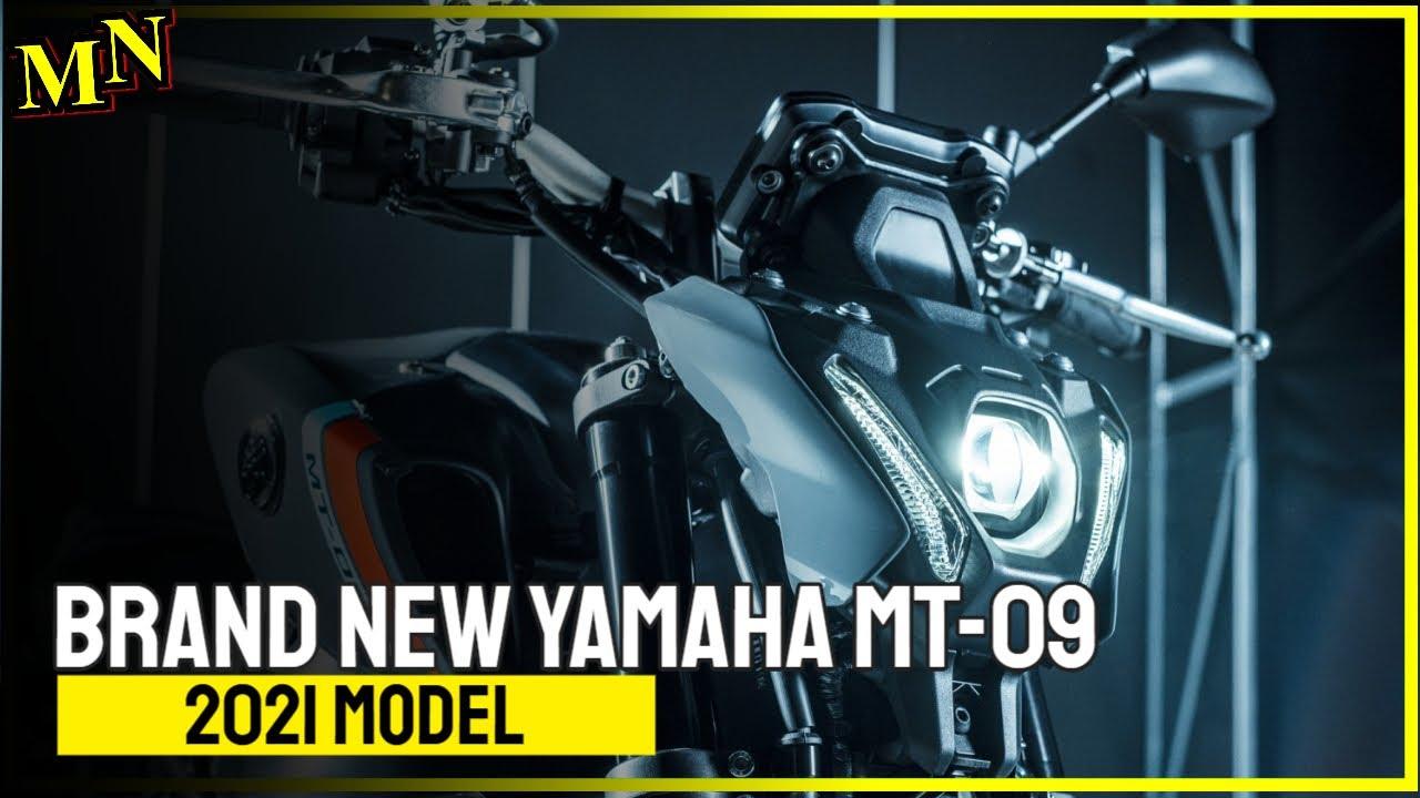 Brand new Yamaha MT-09 for 2021 presented