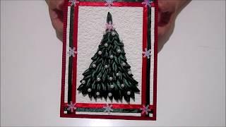 Новогодняя открытка елочка.