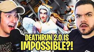 DeathRun 2.0 - People are literally breaking things because of my Creative Mode Course