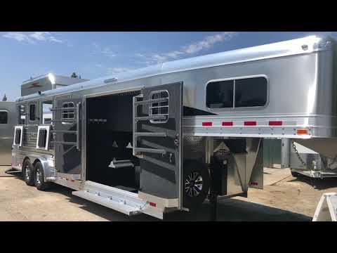 2020 4-STAR TRAILERS 4H DELUX SLANT LOAD in Elk Grove, California - Video 1