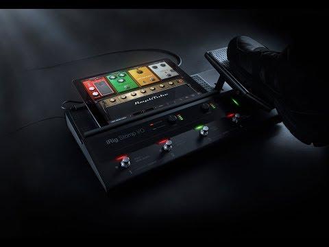 IK Multimedia iRig Stomp I/O (guitare électrique)