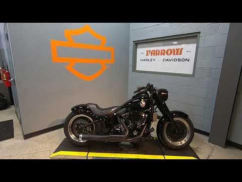 2016 Harley-Davidson Fat Boy S FLSTFBS