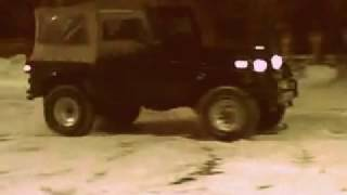 preview picture of video 'CJ-7 - Korando K4 - JeeppoBączki'