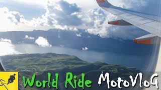 FLYING TO SOUTH AMERICA, GOODBYE NEW ZEALAND! - MotoVlog 39