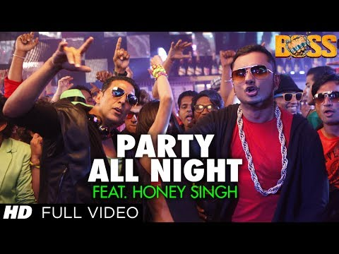 Download Party All Night Feat. Honey Singh (Full Video) Boss | Akshay Kumar, Sonakshi Sinha HD Mp4 3GP Video and MP3