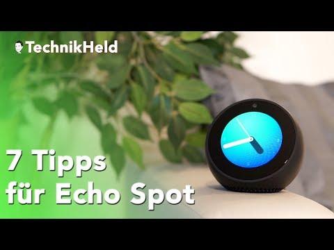 7 praktische Tipps für deinen Amazon Echo Spot