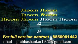 Jhoom Barabar Jhoom Sharabi Karaoke with Lyrics - YouTube