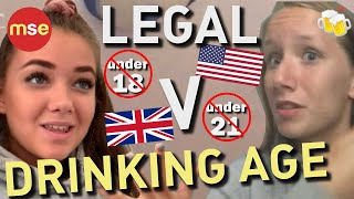 What Should the Legal Drinking Age Be? | 16 | 18 | 21 | British Vs. American Drinking Age | US | UK