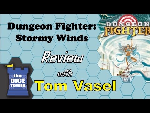 Dice Tower Reviews: Dungeon Fighter: Stormy Winds