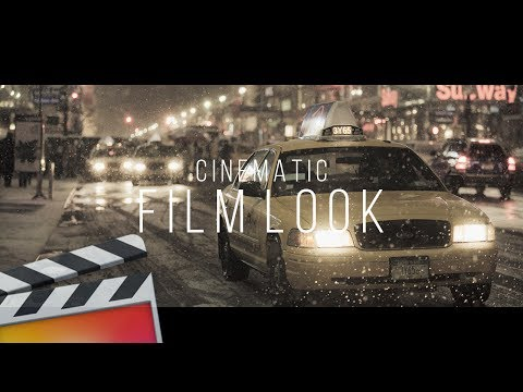 Film Look Tutorial – Final Cut Pro X