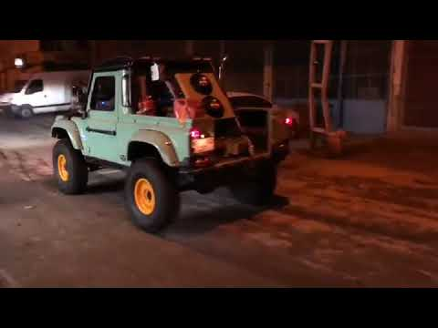 Land rover defender OM606 super turbo diesel first drive - смотреть