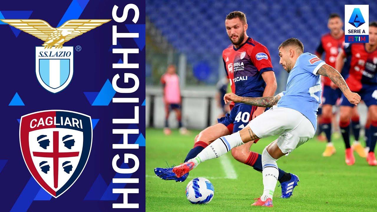 Lazio 2-2 Cagliari | La Lazio non va oltre il pareggio | Serie A TIM 2021/22