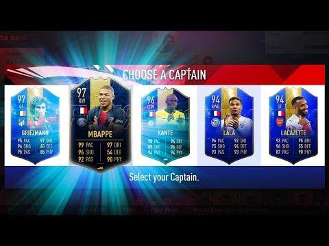 BEST POSSIBLE FRANCE FUT DRAFT CHALLENGE! - FIFA 19 Ultimate Team