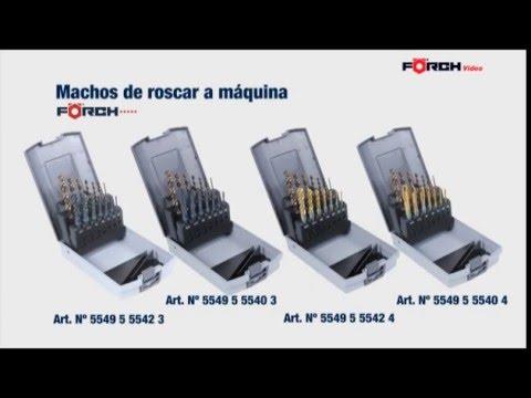 FÖRCH - MACHOS DE ROSCAR A MÁQUINA