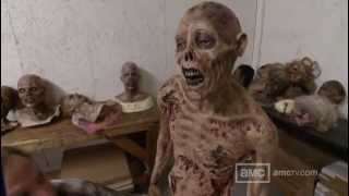 The Walking Dead - Behind the scenes MAKE UP