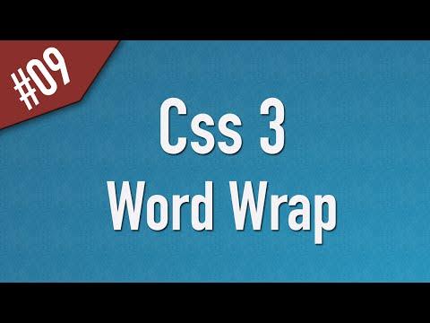 تعلم CSS3 القائمة #1 الفديو #9
