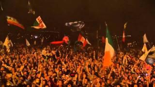 "The Verve:  Bitter Sweet Symphony ""live"", Glastonbury 2008 HD"