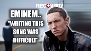 This is Eminem's favourite song on Recovery – You're Never Over