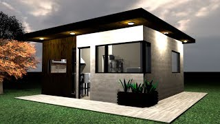 Casa 5 X 5 M  House 5 X 5  Rumah 5 X 5 M