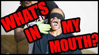 WHAT'S IN MY MOUTH CHALLENGE ft. Trent