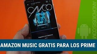 Amazon Music  Para Los Prime