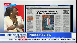 University cancels Linturi's law degree