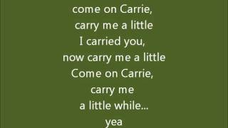 Dr. Hook - Carry Me Carrie (lyrics).wmv