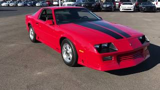 RARE! 1992 BUILT RS CAMARO! 350, 5 SPEED, SCARY FAST