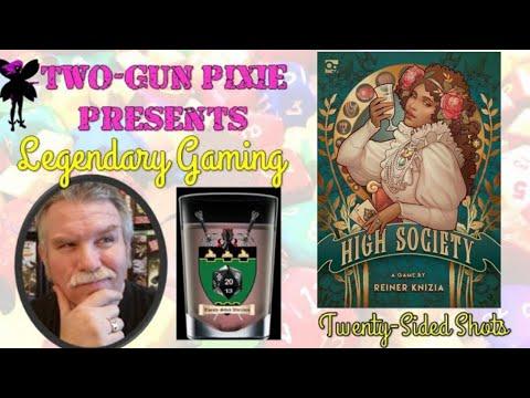 Twenty-Sided Shots 042 - High Society by Osprey Games