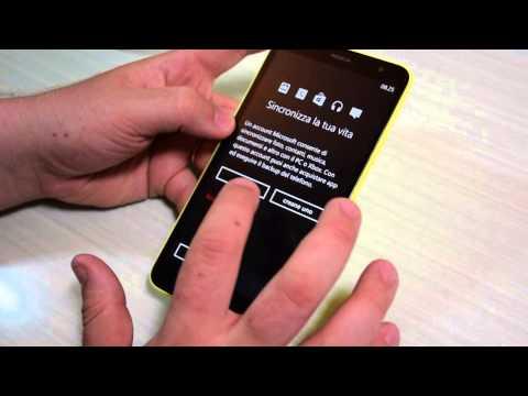 Nokia Lumia 1320: unboxing, primo avvio e confronto dimensionale