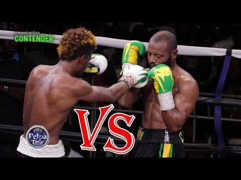 SAKIMA MULLINGS  VS  EDMOND DECLOU  AT WRAY & NEPHEW  CONTENDER