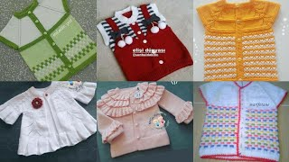 Stunning And Stylish Hand Knitting Baby Sweaters Designs