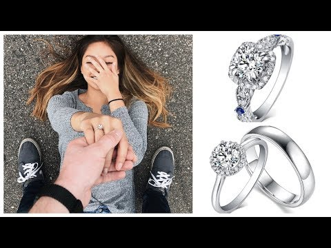CHEAP REAL PROMISE RINGS FOR HIM/HER | Lajerrio Review and Unboxing