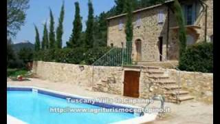 preview picture of video 'Tuscany Villa le Capanne with pool - TOSCANA'