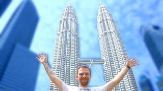 Petronas Towers, The Tallest Twin Towers in the World - Kuala Lumpur, Malaysia