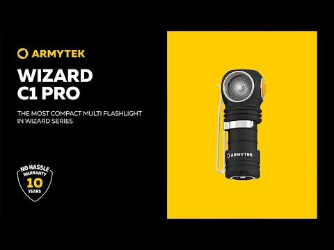 Armytek Wizard C1 Pro – first mini-size flashlight in wizard series