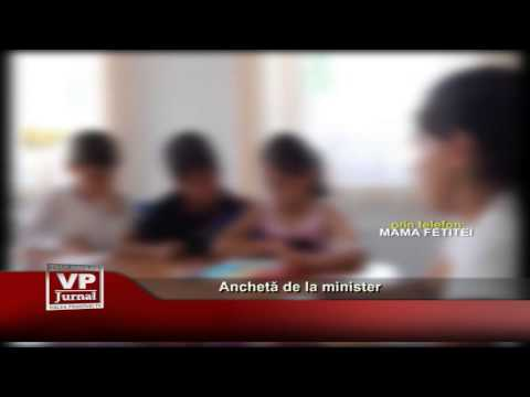 Anchetă de la minister
