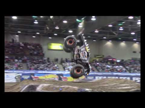 4K Mad Max D In Burning Monster Truck Performance In Las Vegas XIX Monster Jam World Finals